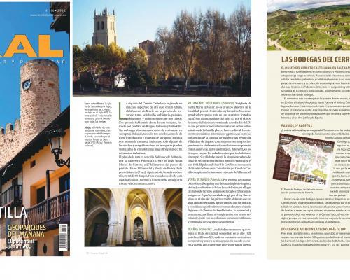 Imagen de El Cerrato en la revista Turismo Rural