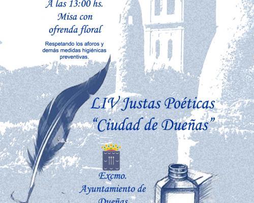 Imagen de LIV JUSTAS POÉTICAS DE DUEÑAS