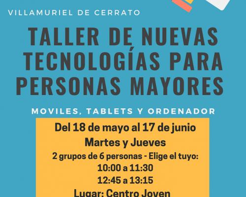 Imagen de TALLER NUEVAS TECNOLOGÍAS